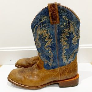 Double HH SONORA. cowboy western boots Sz 8.5